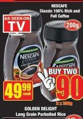 Nescafé Classic  offer at R 49,99