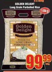 Golden Delight Rice offer at R 99,99