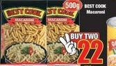 Best Cook Macaroni offer at R 22