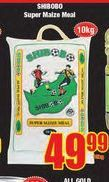 Shibobo Super Maize Meal offers at R 49,99