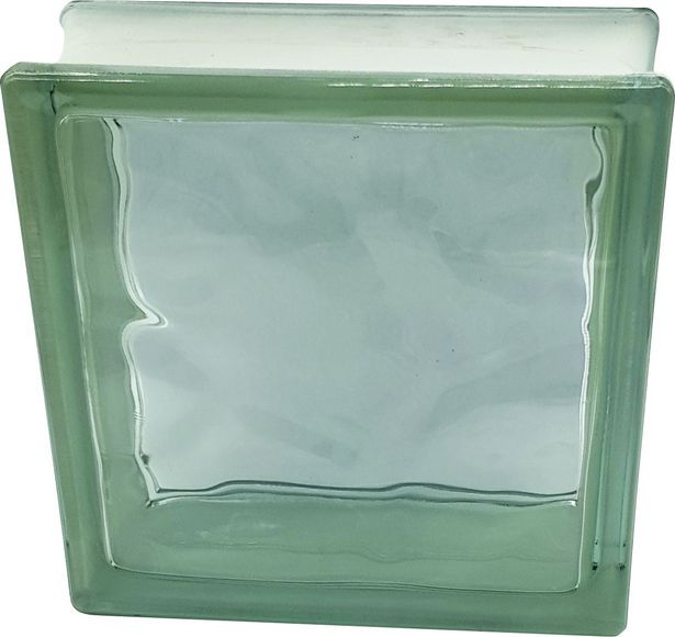 Glass Brick Flemish (wave) 190x190x80mm (Ea) offer at R 38,72