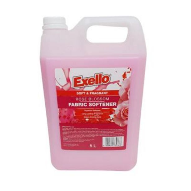 FABRIC SOFTENER 5lt ROSE BLOSSOM offers at R 49,9