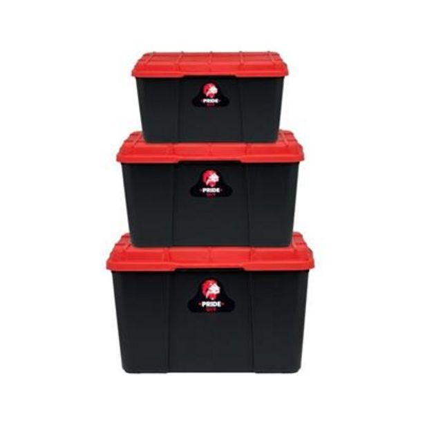 STORAGE BOX 3pc SET offers at R 179,9