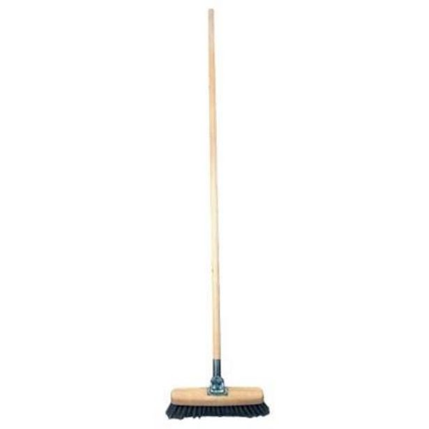PROMO BROOM WOOD GRIP offers at R 69,9