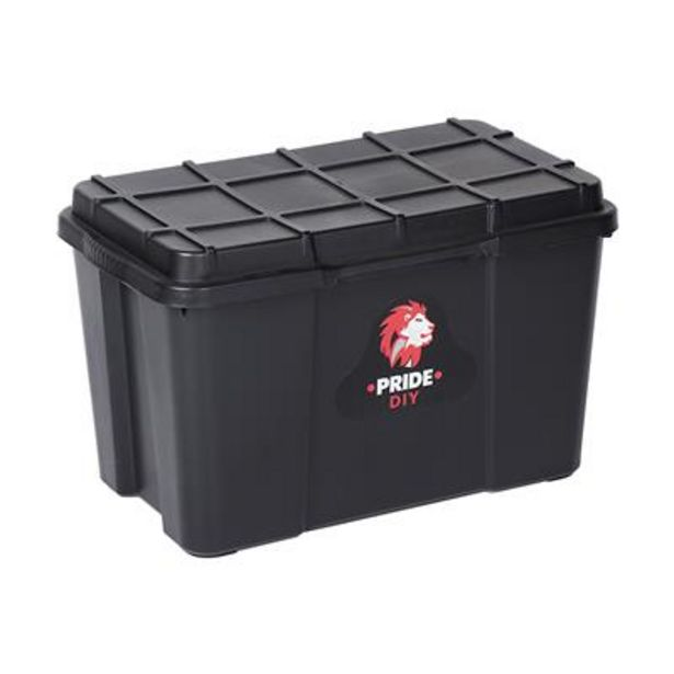 STORAGE BOX 25lt BLACK offers at R 59,9