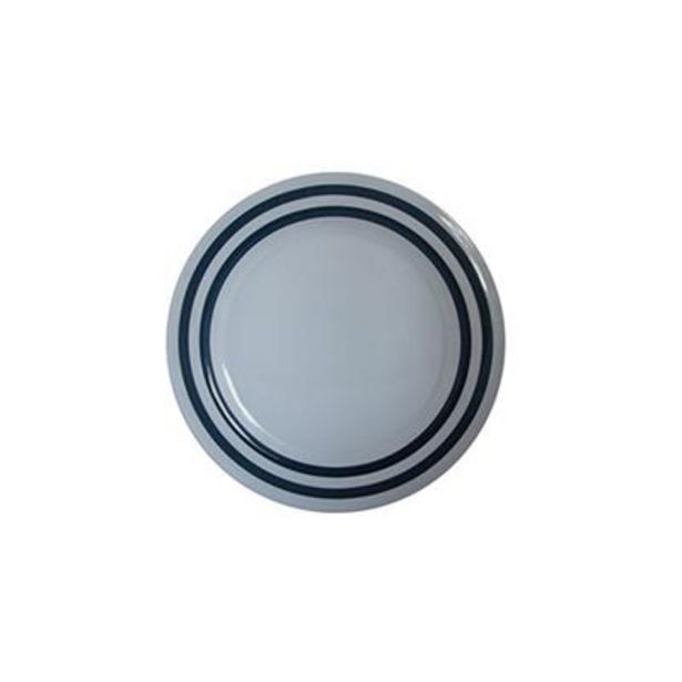 MELAMINE NAUTICAL SIDE  PLATE 200mm offers at R 16,9