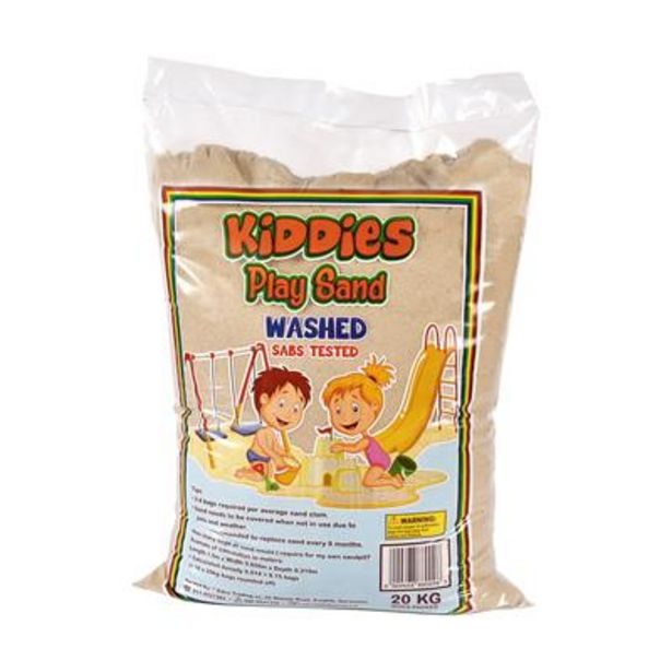 KIDDIES PLAY SAND 20kg offers at R 59,9