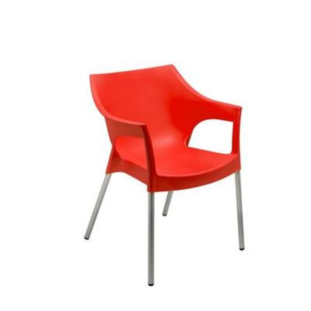 CHELSEA CHAIR RED offers at R 199,9