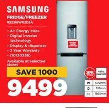 Samsung Fridge / Freezer offer at R 9499