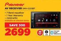 Pioneer AV Receiver offer at R 2699