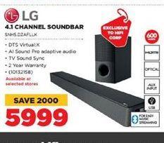 LG 5.1 Channel Soundbar offer at R 5999