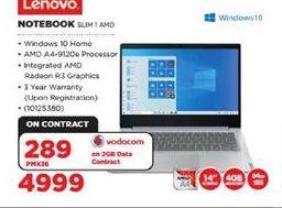 Lenovo Notebook offer at R 4999