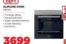 Defy Slimline Oven offer at R 3699