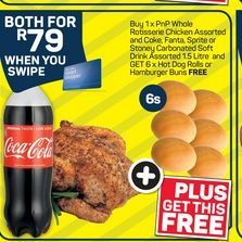 Pick n Pay Whole Rotisserie Chicken  offer at R 79