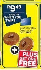 Pick n Pay Ring Doughnut  offer at R 9,49
