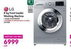 LG Front Loader Washing Machine  offer at R 6999
