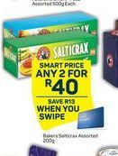 Bakers Salticrax Salted Crackers 2 offer at R 40