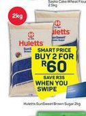 Huletts Brown Sugar  2 offer at R 60
