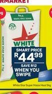 White Star Maize Meal  offer at R 44,99