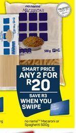 Macaroni 2 offer at R 20