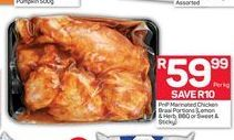 Pick n Pay Marinated Chicken  offer at R 59,99