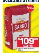 Sasko Cake Wheat Flour offer at R 109,99