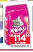 Whiskas Cat Food offer at R 114,99