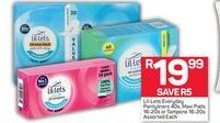 Lil-lets Tampons  offer at R 19,99