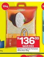 Spekko Long Grain Rice offer at R 136,99