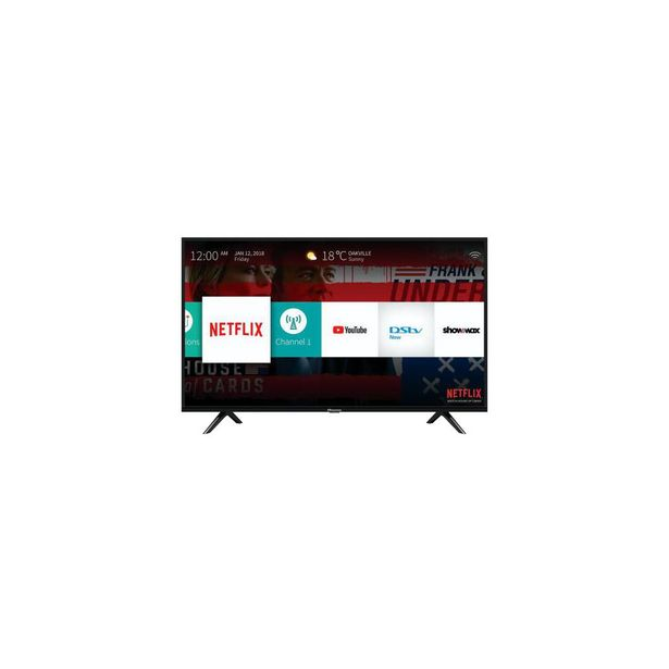 """Hisense TV 43"""" FHD Smart offers at R 7999"""