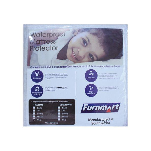 91cm Microfiber Waterproof Mattress Protector offers at R 159