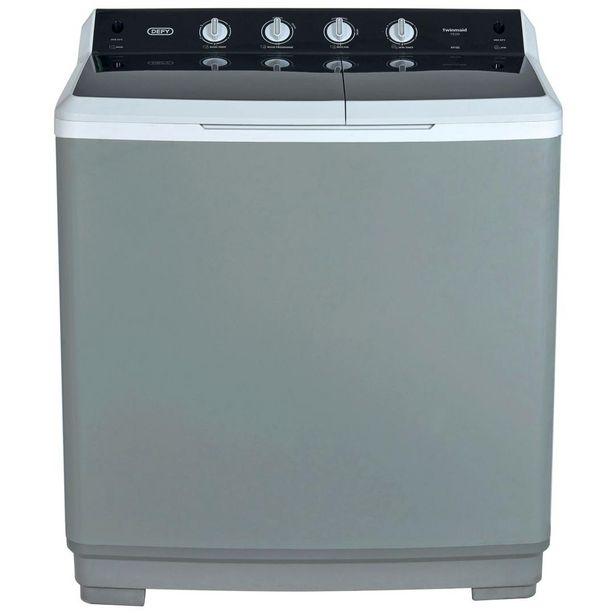 Defy Washing Machine Twin Tub 15Kg Met offers at R 5499