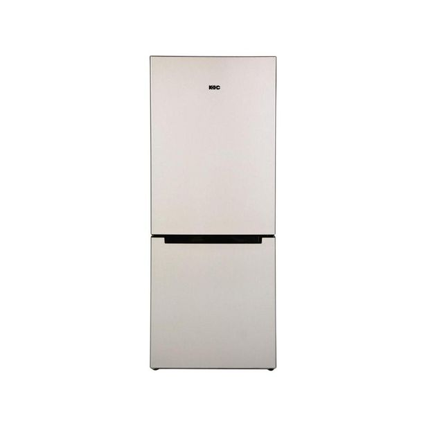 Kic Fridge/Freezer 276Lt Metallic KBF631 offer at R 6299