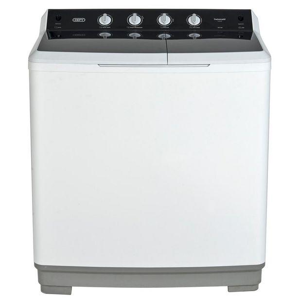Defy Washing Machine Twin Tub 18Kg offers at R 6499