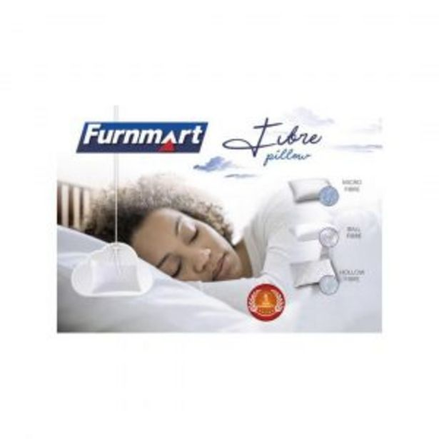 Ball Fibre Twin Pack Pillows offer at R 159