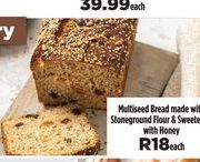 Bread offer at R 18