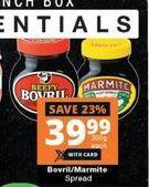 Bovril  Marmite Spread offer at R 39,99