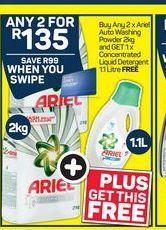 Ariel Washing Powder  offer at R 135