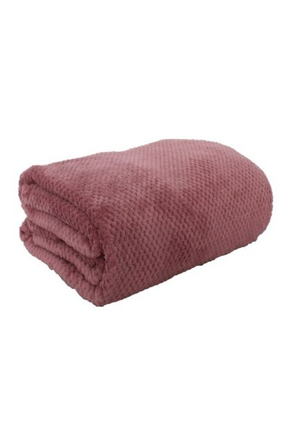 PLUSH WAFFLE BLANKET 200X220CM offers at R 249,99