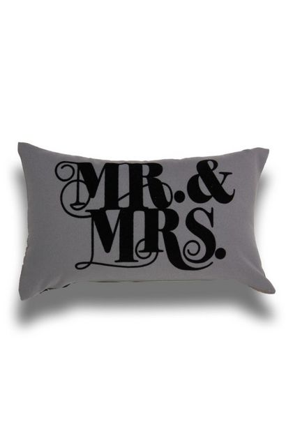 MR AND MRS BEDROOM SCATTER 30X50CM offers at R 99,99
