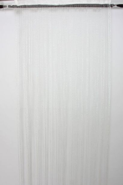 TASSLE UNLINED CURTAIN offers at R 149,99