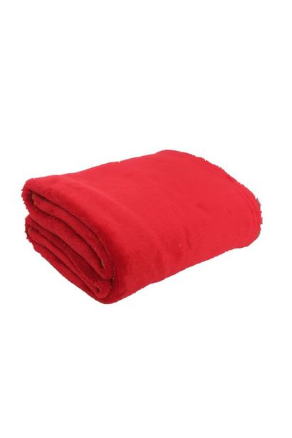 CORAL FLEECE BLANKET 125X150CM offers at R 79,99