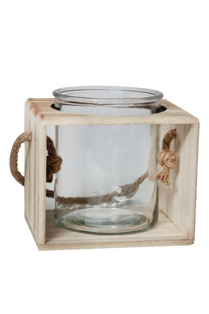 WOODEN LANTERN offers at R 99,99