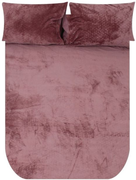 POLYESTER PLUSH DUVET COVER offers at R 429,99