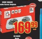 Home Square Burner offer at R 169,99