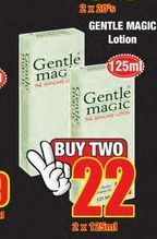 Gentle Magic Lotion 2 offer at R 22