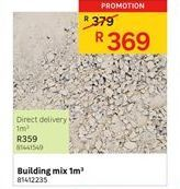 Building materials offer at R 369