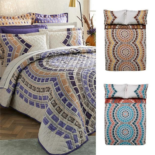 Mara 3-piece Printed Quilt Set offers at R 599