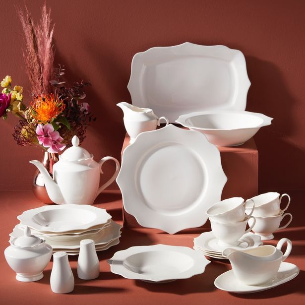 Lumi 25pc Deluxe Dinner Set offers at R 1499