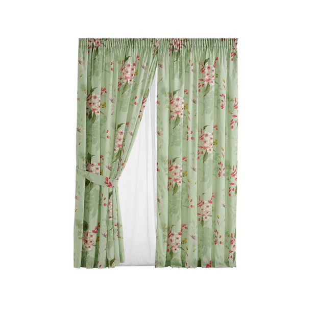 Carlyn 4pc Lined Curtain Set offers at R 399